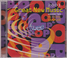 "WEA ""GREAT NEW MUSIC 2001"" 2CD SAMPLER SEALED 31 TRACKS"