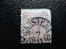 SUEDE - timbre yvert et tellier n° 11 obl (A9) stamp sweden