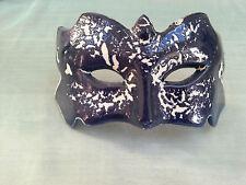 Masque Bleu Style Art Déco Faience de Desvres