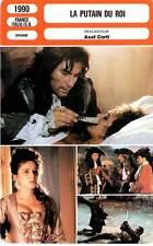 FICHE CINEMA : LA PUTAIN DU ROI - Dalton,Golino,Freiss 1990 The King's Whore