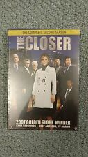 The Closer - The Complete Second Season (DVD, 2007, 4-Disc Set) Brand New!