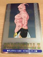 Carte Dragon Ball Z DBZ Hero Collection Part 3 #PC-19 Platina 1995 MADE IN JAPAN