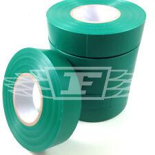 6 rotoli di 19mm x 33m VERDE ISOLAMENTO ELETTRICO in PVC nastro isolante