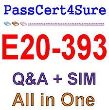 EMC Best Exam Practice Material for E20-393 Exam Q&A PDF+SIM