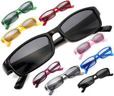ade7d3d524 Slim Sun Reading Glasses form 0.00 to 4.00 Unisex Trendy Designer Spring  Geek