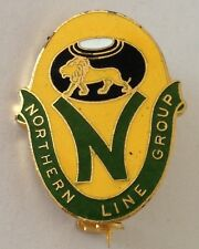 Northern Line Group Bowling Club Badge Rare Vintage (L5)