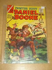 FRONTIER SCOUT DANIEL BOONE VOL 2 #14 VG (4.0) CHARLTON COMICS MARCH 1965