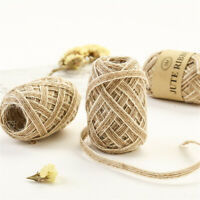 Ornament Lace Rustic Hessian Ribbon Jute Burlap Rolls Fish Silk Rope Trims Tape