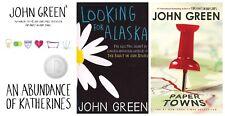 John Green Paperbacks, Looking for Alaska, Paper Towns & more / lot of 3