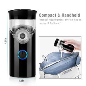 US Portable Travel Rechargeable Ultrasonic Inhaler Respirator Mesh Nebulize