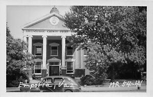 H75/ Emporia Virginia RPPC Postcard c1950s County Court House 222