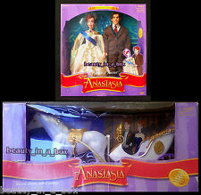 Dimitri Anastasia Doll Always and Forever Gift Set Royal Horse Carriage Dented