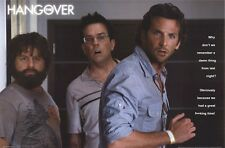 THE HANGOVER MOVIE POSTER ~ WHY DON'T REMEMBER LAST NIGHT? 24x36 Bradley Cooper