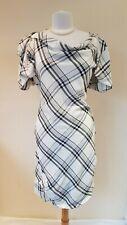 Vivienne Westwood Red Label black white check dress Size 46 Fits UK 12