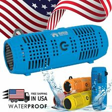 EMB Rechargeable Rugged Portable Waterproof Speaker w/ Bumping Bass , Bluetooth