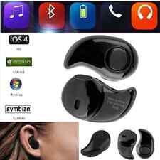 Mini Wireless Bluetooth 4.0 Stereo In-Ear Headset Black Earphone Earbud Earpiece