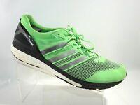 Adidas Adizero Boston Boost 5 B33481 Size 12.5 M Green Black Running Mens Shoes