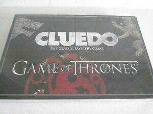 Brand New Mint In Box Sealed Game Of Thrones Cluedo Classic Mystery Game Hasbro