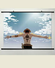 One Piece Portgas.D.ACE Marco Home Decor Anime Japanese Poster Wall Scroll 2006