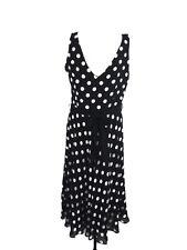 Planet Women's Dress Size 12 Black Spotted Sleeveless