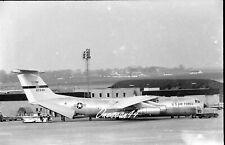 ORIGINAL AIRCRAFT NEGATIVE - C-141A 67948 438MAW 1968.