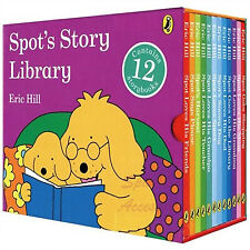 NEW The Spot Story Library 12 Books Book Collection Eric Hill Kids Gift Box Set!