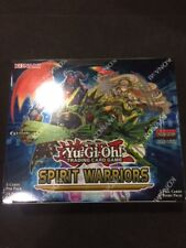 Yu-Gi-Oh! Spirit Warriors Factory Sealed 1st Edition Booster Box