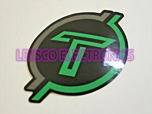 "Timpano Car / Pro Audio Decal Sticker Self Adhesive (sold each) 3.25"" x 2.25"""