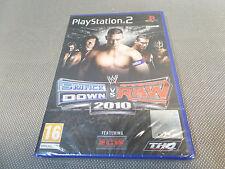 SMACK DOWN VS RAW 2010/NEUF ET SCELLE/JEU PS2