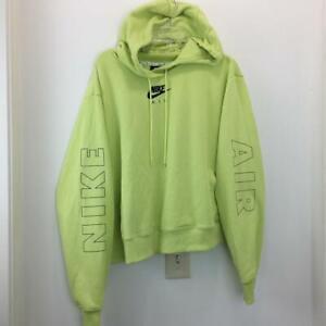 NWT Nike Womens Lemon Green Hoodie Sweatshirt Plus Size 2X 3X DB6050-352