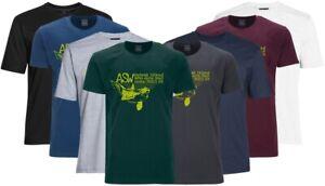 Übergrößen T-Shirt AHORN SPORTSWEAR 8 Farben Unimak Island lime 3XL - 10XL