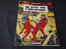 LELOUP LES AVENTURES DE YOKO TSUNO N°1 LE TRIO DE L'ETRANGE EO 1972