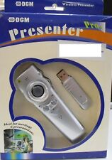 New DGM Presenter Pro+ DM-007 Laser Presenter/Mouse/Audio Remote with USB Dongle