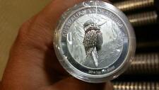 2014 Australia Kookaburra Full Roll (20) 1 oz Silver Perth Mint Australian Coins