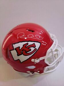 Signed Patrick Mahomes Autographed Kansas City Chiefs FS Authentic Helmet