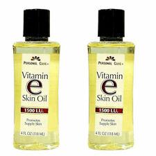 2x Personal Care Vitamin E Skin Oil 1500 I.U. Soften & Moisturize Skin 4 oz