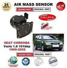 POUR SEAT CORDOBA Vario 1.6 101bhp 99-02 CAPTEUR DÉBIT AIR MASSIQUE 4 BROCHES