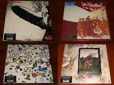 LED ZEPPELIN I II III IV 4x LP VINYL Lot EU REMASTERED 180g LTD ORIG COVERS New