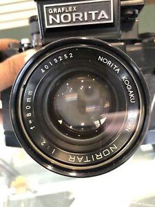 Graflex Norita 66 With 3-Lens Camera Outfit