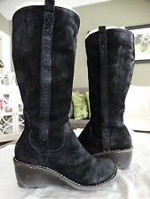 GENTLY WORN UGG HARTLEY TALL BOOTS 9