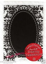 NEW✿ Double Scallop Flourish Oval Frame Embossing Folder ✿For Cuttlebug Sizzix ✿