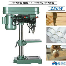 Bench Drill Press Bench Mounted 5 Speed Electric Operation Table Stand Base 250W