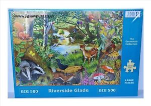 Riverside Glade New Release Big 500 Drummuir House of Puzzles Jigsaw Puzzle