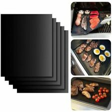 2 pcs Non-Stick BBQ Grill Mat and Baking Sheet for Easy Clean Cooking and