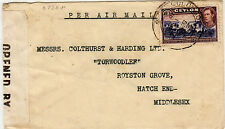 Postal History Ceylonese Colony Stamps (pre-1948)