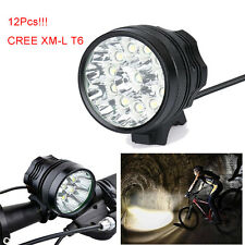 30000Lm Cree XML T6 Bycicle Lamp Sport Cycling 3 Modes Bike Headlamp Light Torch
