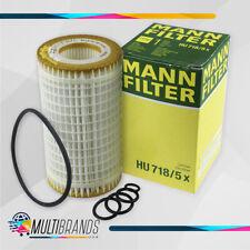 Set of 1 MANN FILTER HU718/5X Engine Oil Filter  100% GENUINE for Mercedez Benz