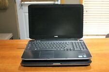[FOR PARTS] Two Dell Latitude E55X0 Laptops   Intel Core i5   2GB RAM ea.