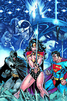 Jim Lee SIGNED Wonder Woman Superman Batman DC Giclee on Paper Limited Ed of 250