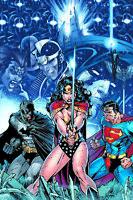Jim Lee SIGNED Wonder Woman Superman Batman DC Giclee on Paper Limited Ed of 250